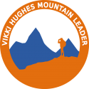 Vikki Hughes Mountain Leader logo